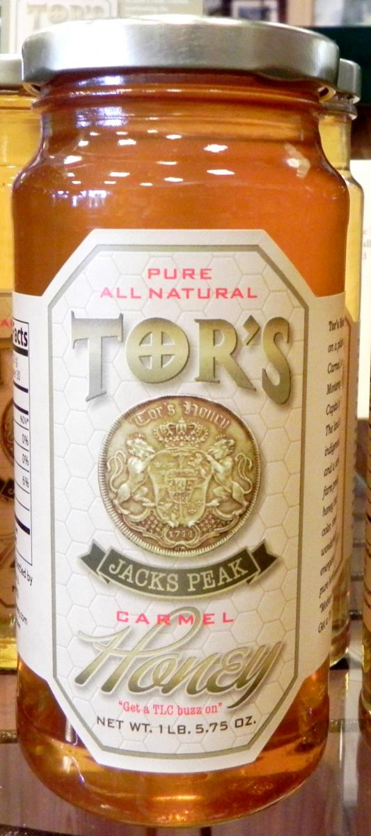 Tors Honey - Buy Local - Monterey, California