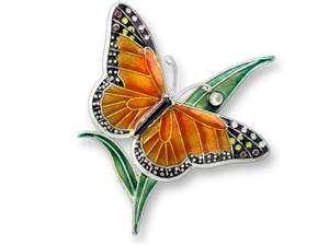 Butterfly Pin by Zarah - at Wild Bird Haven in Monterey, California